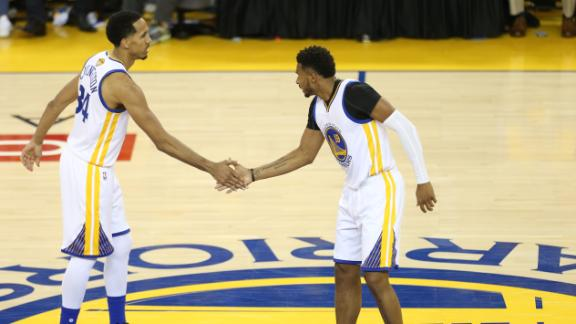 Sights and Sounds: Warriors' bench stuns Cavs in Game 1
