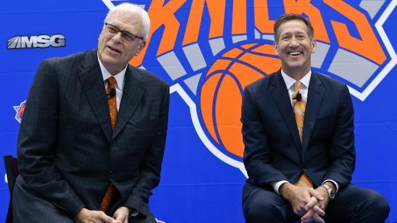 Jackson, Hornacek on Knicks' offense