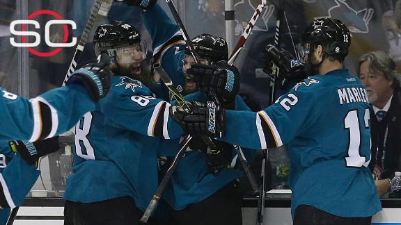 Sharks take Game 3 with Donskoi's OT goal