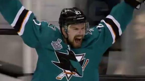 Donskoi the hero for Sharks with OT Goal