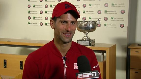 Djokovic: I've waited a long time for this win