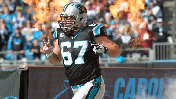Video - Panthers lock in Kalil with two-year extension