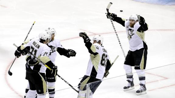 Penguins one win away from Stanley Cup after taking Game 4