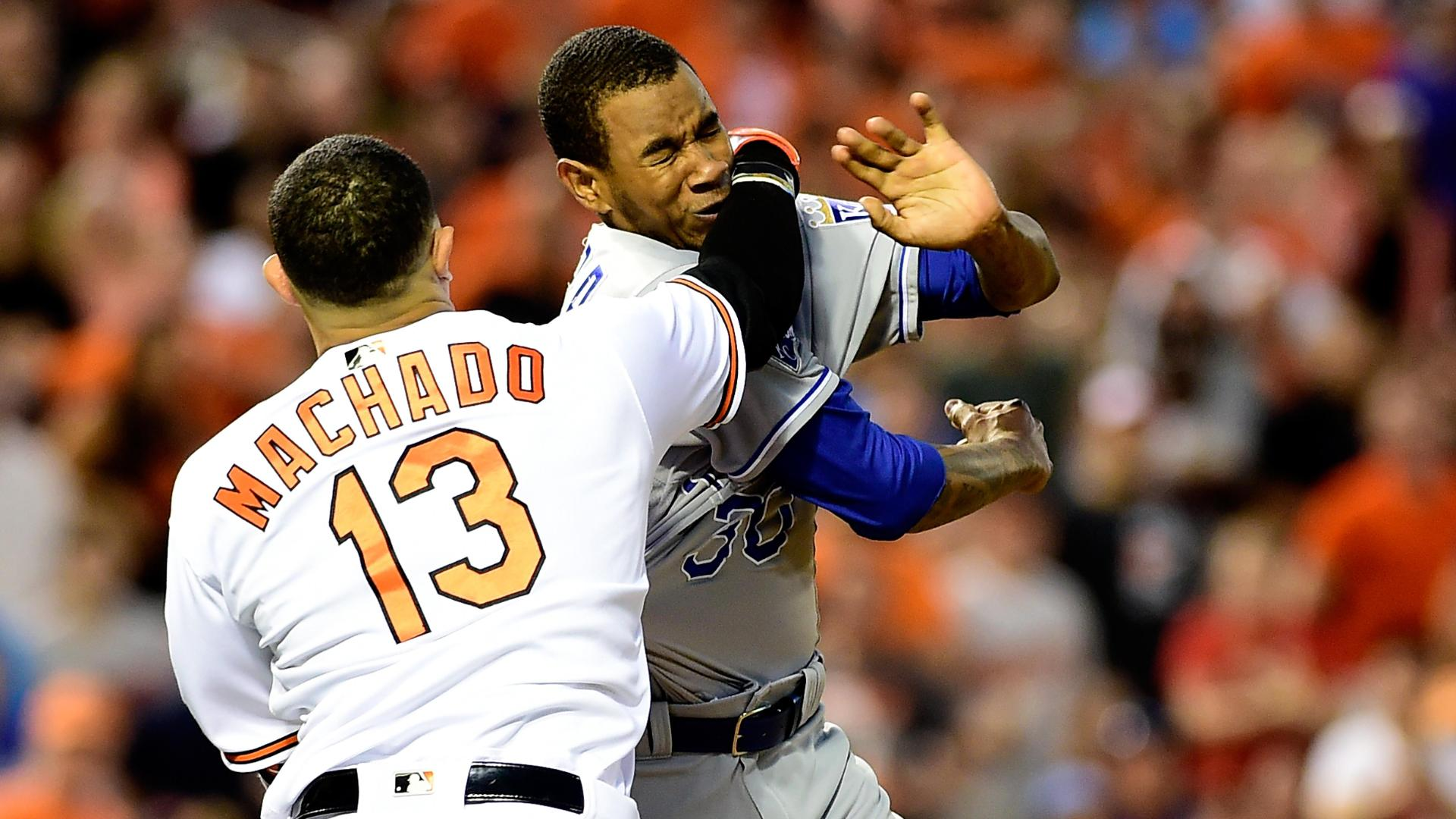 Machado, Ventura turn baseball into a wrestling match