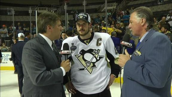 Crosby: 'This one definitely feels really good'