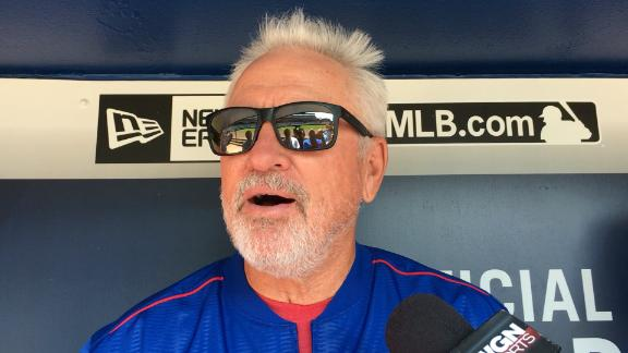 What did Joe Maddon do after the Cubs 8-2 win over the