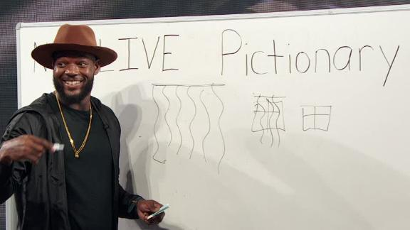 Video - 'NFL Live Pictionary' with Martellus Bennett