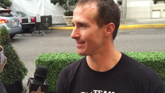 Video - Brees on Gleason doc: 'This is a story about how to live your lif...