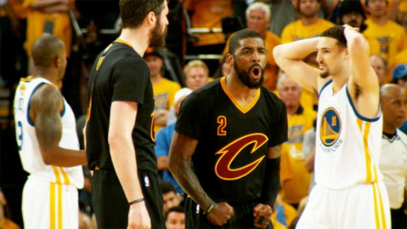 17 things you missed on that Kyrie Irving and-1 that silenced Oracle