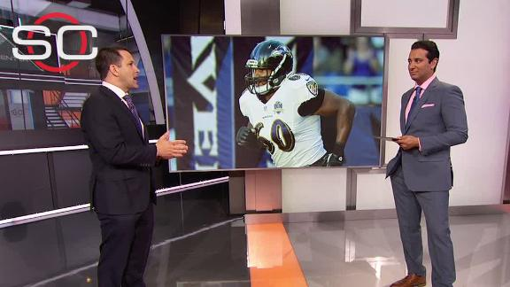 Video - Schefter: 'Always in Ravens' plans' to release Monroe