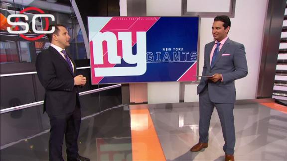 Video - Schefter: Sterling Shepard has been 'star' of OTAs