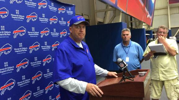 "Rex Ryan says he feels the Bills have ""won the offseason"" but"