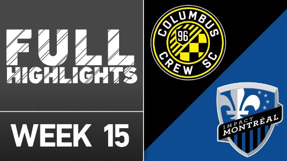 Video via MLS: Columbus Crew SC 0-0 Montreal Impact