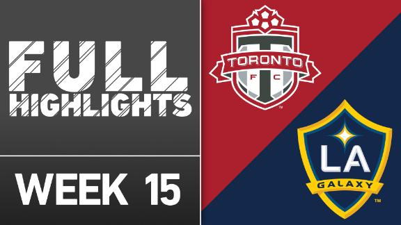 Videos via MLS: Toronto FC 1-0 LA Galaxy