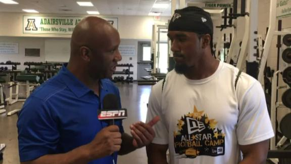 Video - Falcons' Vic Beasley Jr. remembers his late father on Father's Da...