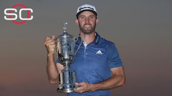 Dustin Johnson wins U.S. Open for first Major title