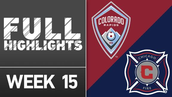 Video via MLS: Colorado Rapids vs. Chicago Fire