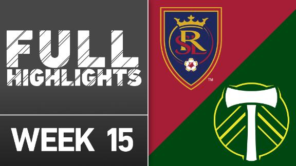 Video via MLS: Real Salt Lake vs Portland Timbers