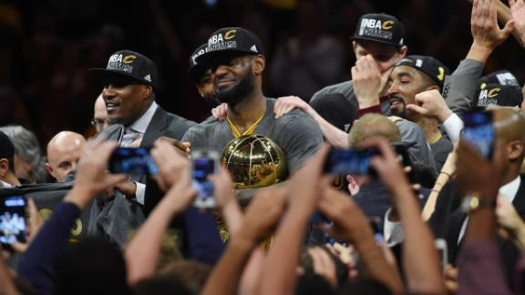 All-Access: Cavs bring title home to Cleveland