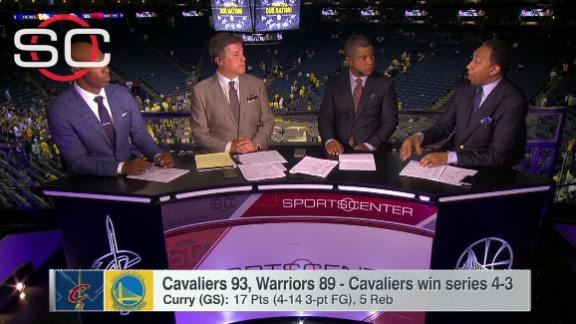 Stephen A. on Curry: 'Something was missing'