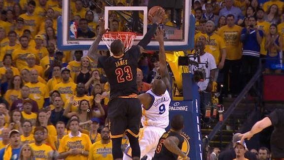 LeBron James: The chase down block artist - ESPN Video - ESPN