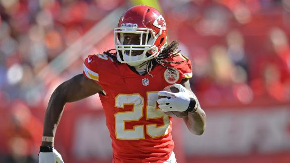 Jamaal Charles still a RB1 in fantasy this season