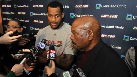 Video - Jim Brown: The city of Cleveland refused to give up