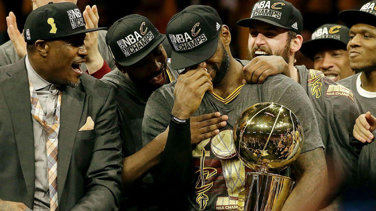LeBron fulfills promise to bring title home to Cleveland