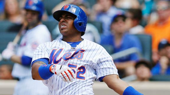Cespedes, Syndergaard exit early in Mets' victory