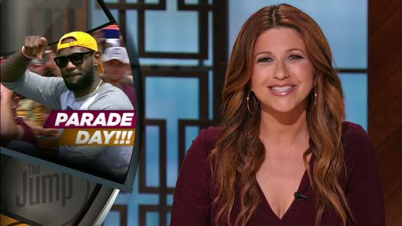 Video - Rachel Nichols relishes 'Parade Day' in sports