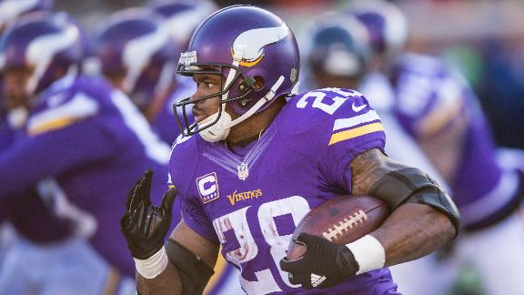 Video - Peterson defies his age, but wary of NFL grind