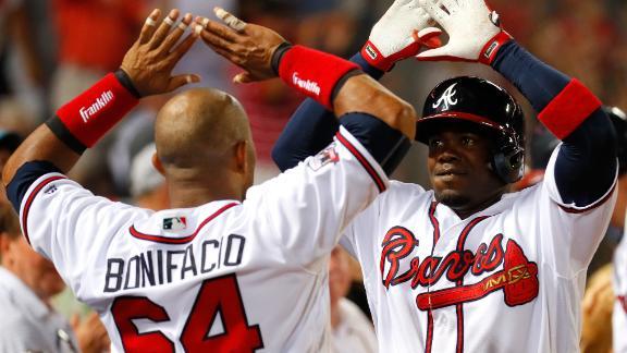Garcia's late home run puts Braves past Mets