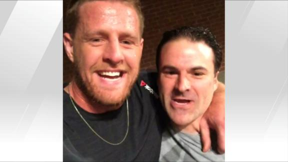 Video - J.J. Watt is a motivational beast