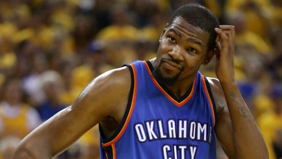 Sources: Warriors, Spurs, OKC to pitch Durant