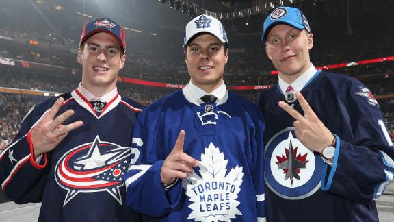 Matthews goes first to Maple Leafs in NHL draft
