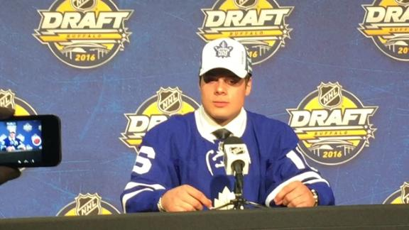 Auston Matthews goes No. 1 to Leafs; three Finns taken in top five