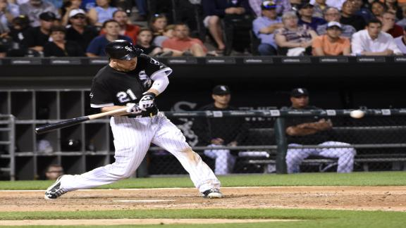 Frazier drives in go-ahead run for White Sox