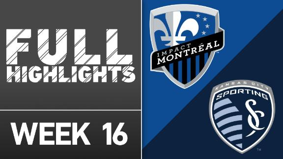Video via MLS: Montreal Impact 2-2 Sporting Kansas City