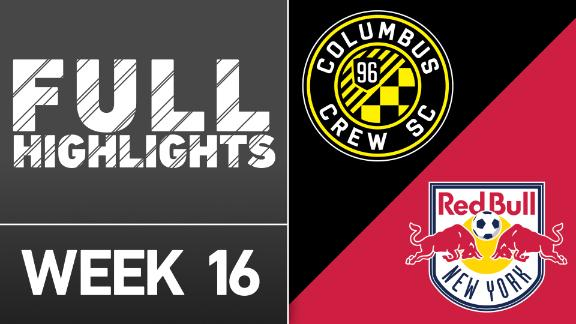 Video via MLS: Columbus Crew SC 1-1 NY Red Bulls