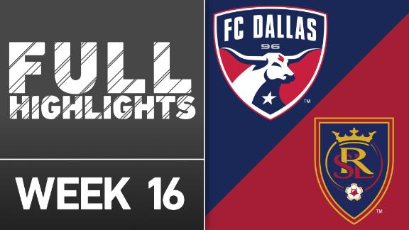 Video via MLS: FC Dallas 2-0 Real Salt Lake