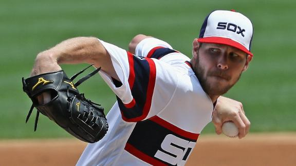 Sale earns 13th win as White Sox top Blue Jays