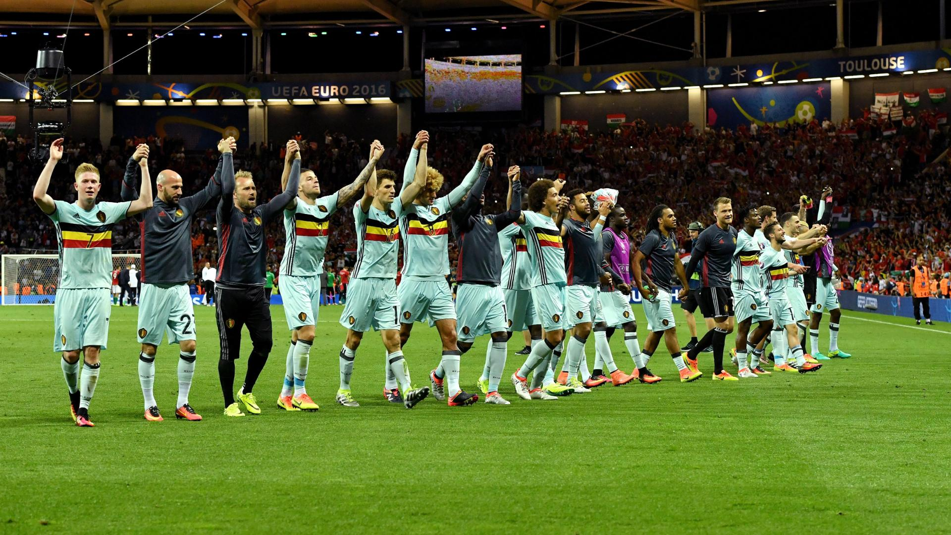 Belgium top stubborn Hungary to reach Euro 2016 quarterfinals