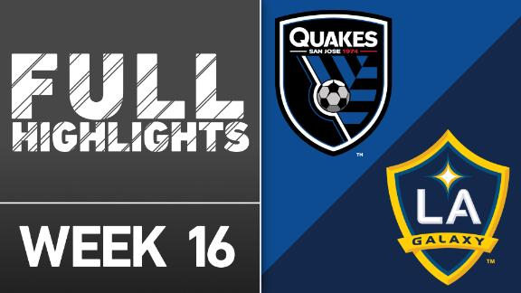 Video via MLS: San Jose Earthquakes vs. LA Galaxy