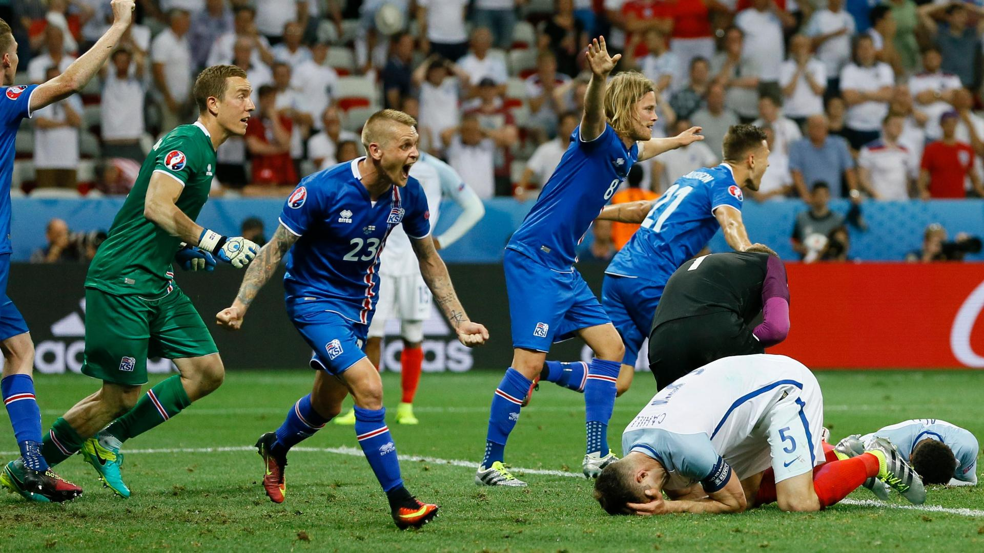 Icelandic commentator can't contain excitement in final seconds