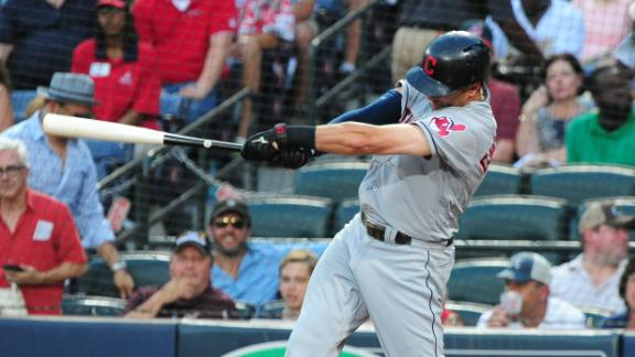 Chisenhall's three-run home run gives Indians the lead