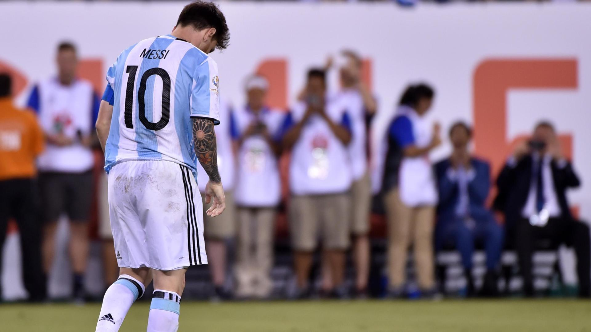 Messi, Argentina fall again in Copa America