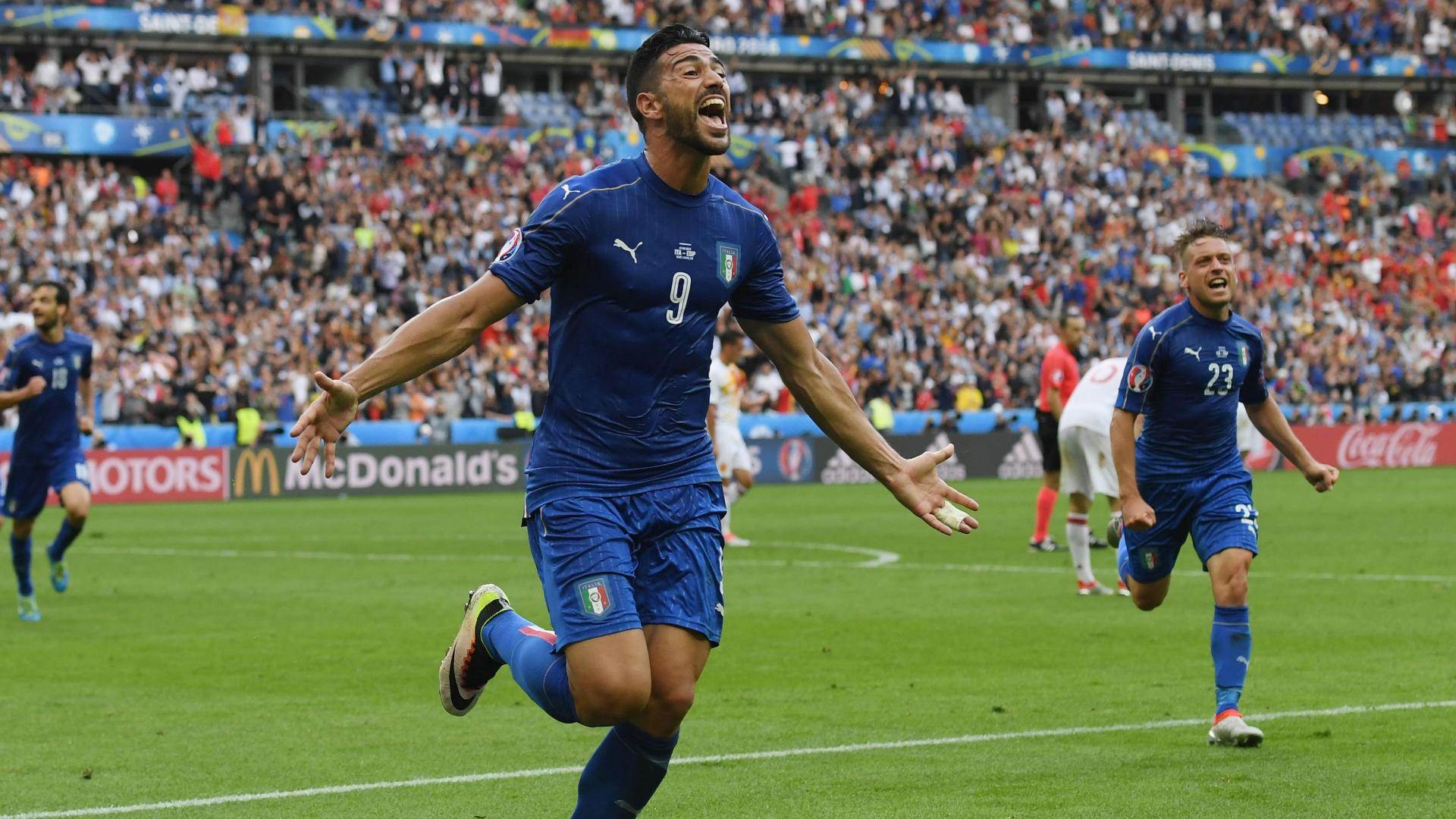 Italy tops Spain to advance to quarterfinals