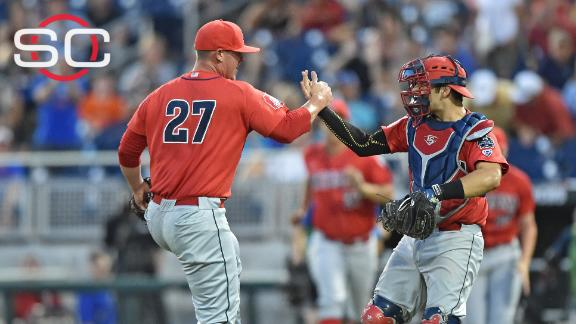 Arizona blanks Coastal Carolina to get within a win of CWS title
