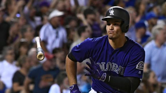 Arenado's two-run single puts Rockies up for good