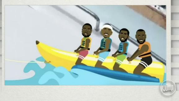 Is a banana boat super team realistic to imagine?